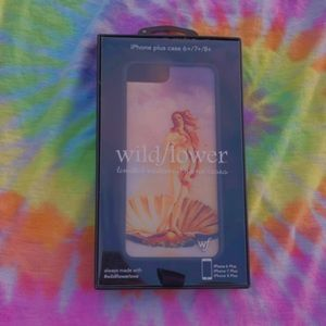 iPhone 6+,7+,8+ wild flower case!
